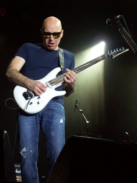 """Satriani 2010 13 12 1112"" by Shape Prior - Own work. Licensed under CC BY-SA 3.0 via Commons - https://commons.wikimedia.org/wiki/File:Satriani_2010_13_12_1112.jpg#/media/File:Satriani_2010_13_12_1112.jpg"